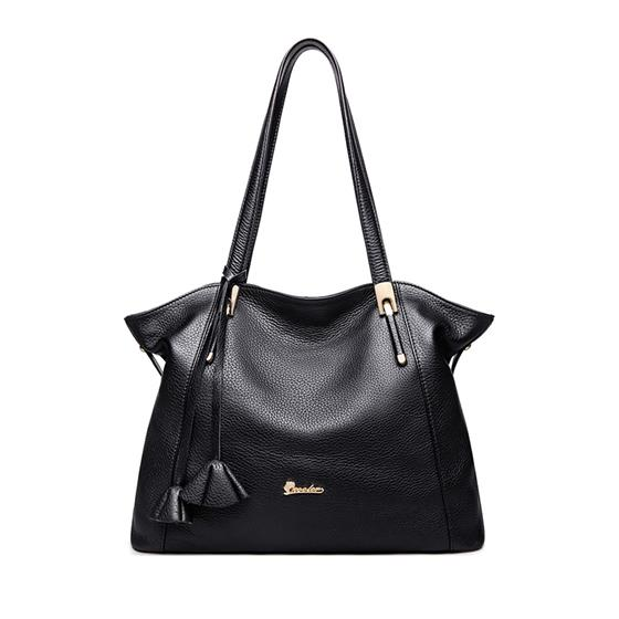 Summer Women Leather Bags Luxury Genuine Leather Handbags Women Bags , Stylish Lady Shoulder Bag