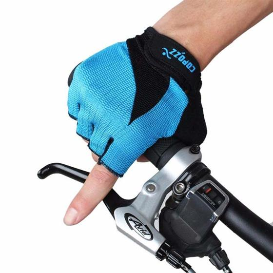 GEL Half Finger Men Women Cycling Gloves Slip for MTB , Easy to Put On and Take Off