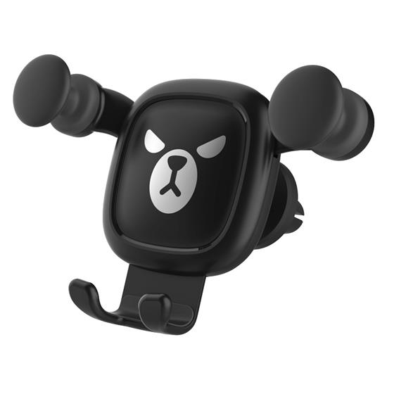 Car phone Holder Air Outlet Mobile phone Bracket , Cartoon phone Stand Suitable for Personal use and as a gift