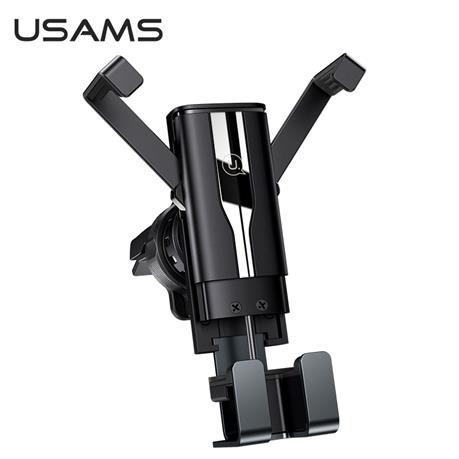 USAMS Phone Holder Stand Phone Car Holder Gravity Air Vent Clip Mount Smartphone Holder, GPS Support For iphone Xiaomi Samsung