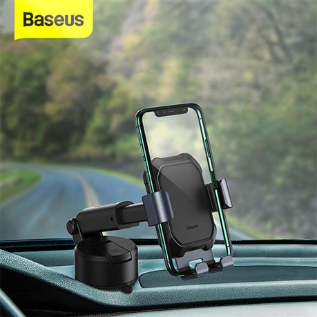 Baseus Car Phone Holder Strong Suction Cup Car Mount Holder, 360 Degree Gravity Car Holder Stand for Mobile Phone