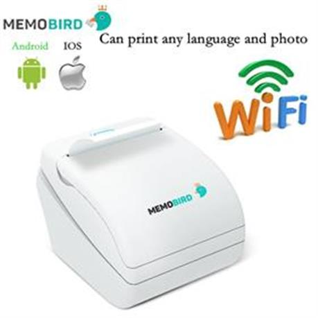 New WiFi Thermal Printer Smart barcode Printer Wireless Remote Phone Photo Printer , Print Any Language and Photo