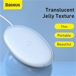 Baseus Jelly Wireless Charger 15W Fast Qi Wirel ...
