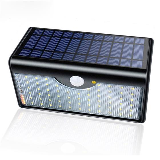 60 LED Solar Lamp Five Modes With Indicator Lights Solar Power Lights For Outdoor Garden Wall, IP65 Waterproof