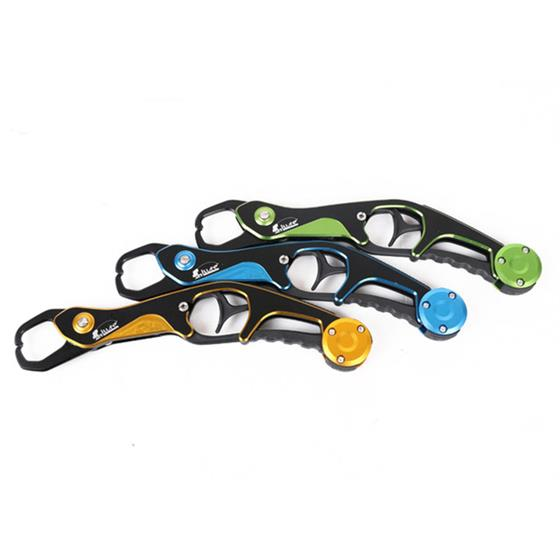 New Grip Folding Aluminum Alloy Fishing Tongs Lip Grip , Fish Hook Removal Controller Fishing Tackle Tools Claw