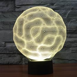 Brain Lamp 3D LED Night Light USB Charger Table Lamps Sleeping Night lights gift