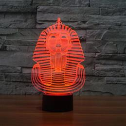 Home decor Acrylic light Night Lamp 3D LED Night Lights Sphinx LED lamp ...