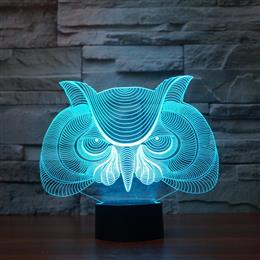 Creative Owl Desk Lamp Table Light visual light Atmosphere Decoration lamp christmas gift
