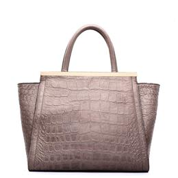 Fashion Ladies Bags Retro Women Crocodile Bag Vintage Real Leather Handbags