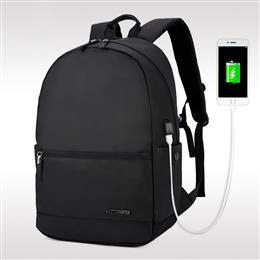 Laptop Backpack External USB Charge Computer Backpacks Waterproof Bags f...
