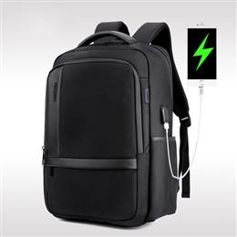 New Casual Men 'S Shoulder Bag Nylon Waterproof College Students Bag Computer Bag Backpack