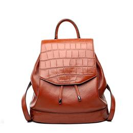 Great Quality Leather Backpacks Real Leather Laptop Backpack For Women Travel Bag