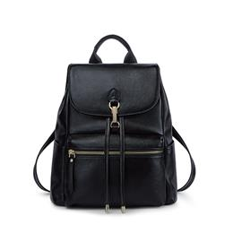 Brand Genuine Leather Backpack Women Fashion Bagpack Cow Leather Hand Bag
