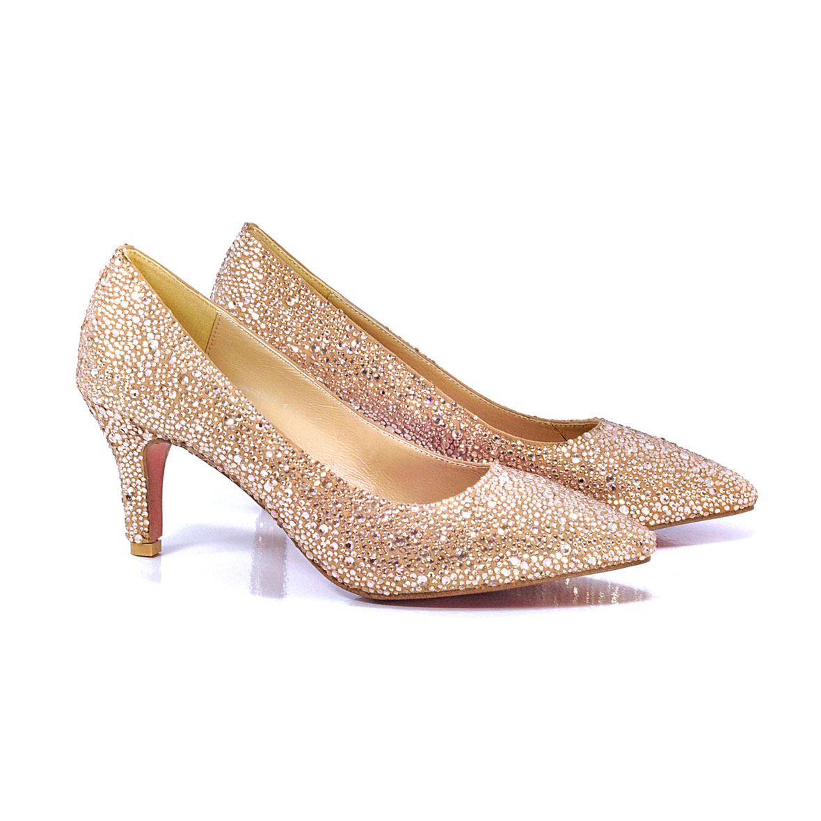 Hi-Glam Pointed Heel Shoes