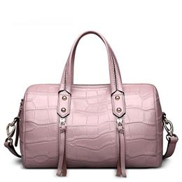 Brand Genuine Leather Bags For Women Luxury Leather Handbags Top-Handle Bag