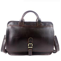 Men's Briefcase Laptop Bag Men Messenger Bags Genuine Leather Men Bag Shoulder Crossbody Bags for Man Handbag Portfolio