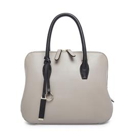 Women Leather Shell Handbags Genuine Leather Bags Gray Shell Bags