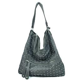 Black Mid-City Hobo Bag