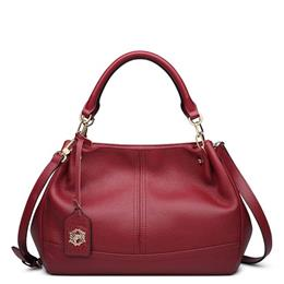 Genuine Leather Bag Luxury Top Handle Handbags Women Bags