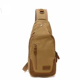 Casual Canvas Men Chest Pack Bag For Men Work Sling Shoulder Bags