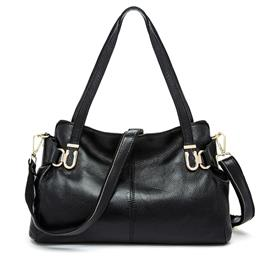 Women's Real Leather Bag Luxury Designer Handbags Female Large Bag