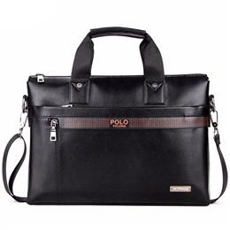 Top Sell Fashion Simple Dot Famous Brand Business Men Briefcase Bag