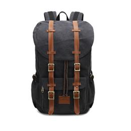 Men Backpack Canvas Large Backpack Travel Bags For Men/Women Vintage Military Style Backpacks Casual School Bag