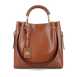 Genuine Leather Bag Bags Handbags Shoulder Bags Composite Women Bag Cowh...