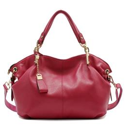 Women Genuine Leather Hobo Bag Female Real Leather Handbag Luxury Woman Office Fashion Bag