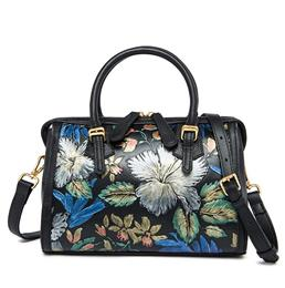 Flower Boston Women Handbag Brand Luxurious Flower Bag Feminina Luxury Handbags