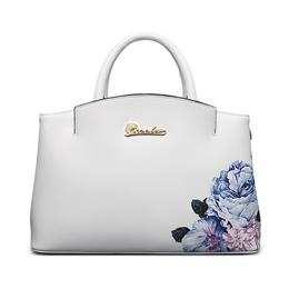New Totes Elegant Floral Pattern Women Leather Shoulder Bags