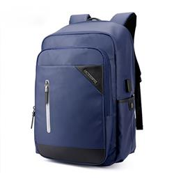 Casual Computer Zipper Laptop Backpack External USB Charge Computer Backpacks Waterproof Bags For Men Women