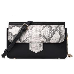 Small Handbags Real Leather Women Bag Genuine Leather Python Bag
