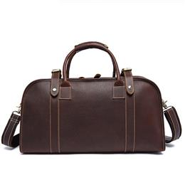 Men's Multi-purpose Travel Bags Genuine Leather Men Bags Leather Luggage Duffle Bag Casual Handbag Suitcase Travel Bag