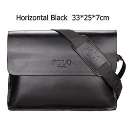Famous Brand Leather Men Bag Casual Business Leather Mens Messenger Bag