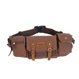 Men's waist pack Belt Bag Casual Canvas Male  For Men Fanny Pack Work Travel Tool Shoulder Bags