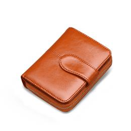 Hot Sale Short Coin Purse Female Leather Wallet Women Wallet Fashion Dollar Small Card Holder Lady Purse