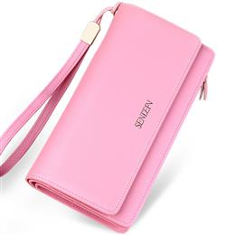 Brand Fashion Really Genuine Leather Wallet Female Fashion Lady Purse