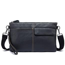 Casual Man Clutches Men Bag Genuine Leather Shoulder Bags Crossbody Bags for Men Messenger Bags Male Day Clutches