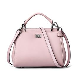 All In Stock Women Leather Bag Brands Genuine Leather Bag High End Solid Women Bag