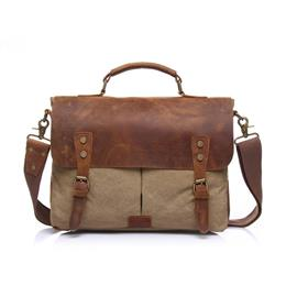 Famous Brand Business Men Briefcases Bag Leather Laptop Casual Man's Bag