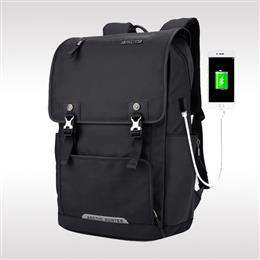 15.6 Inch Laptop Backpack External USB Charge Computer Backpacks Waterpr...