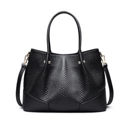 Women Famous Brands Elegant Genuine Leather Shoulder Bag Crossbody Bag