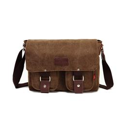 New Men Crossbody Bag Male Vintage Canvas Men's Shoulder Bag Milita...