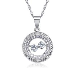 Crystals from Swarovski Beating crystal woman necklace Jewelry