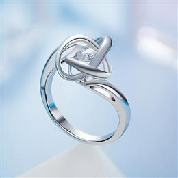 Luxury Ring Dancing Stone Fashion S925 Sterling Silver Jewelry