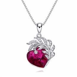 Crystals From Swarovski Women Necklaces Pendants S925 Sterling Silver Fa...