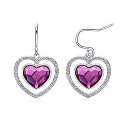 Luxury crystals from Swarovski earrings for women