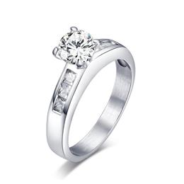 Stone Promise Rings for Women Bridal Jewelry