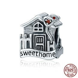 Fashion New Genuine 100% 925 Sterling Silver Sweet Home Loft Villa Charms